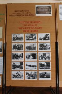 Soba praporov z dokumenti o izgnancih